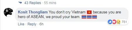 Người hâm mộ châu Á vẫn khen ngợi Việt Nam dù thất bại trước Hàn Quốc - 3