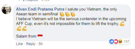 Người hâm mộ châu Á vẫn khen ngợi Việt Nam dù thất bại trước Hàn Quốc - 5