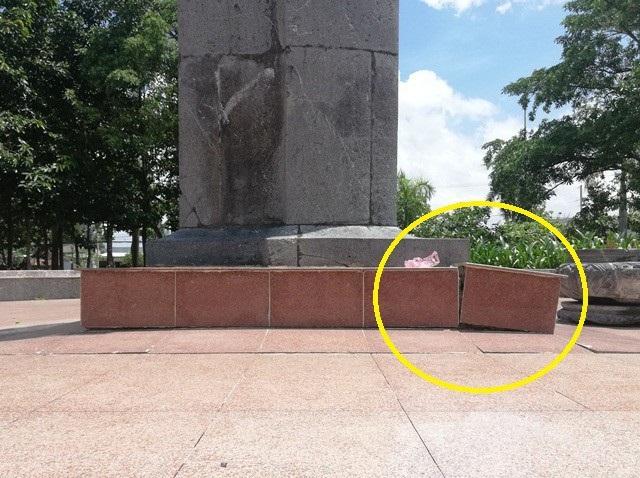 Một phần tượng đài nữ anh hùng liệt sĩ Lê Thị Riêng xuống cấp tại Bạc Liêu! - Ảnh 12.
