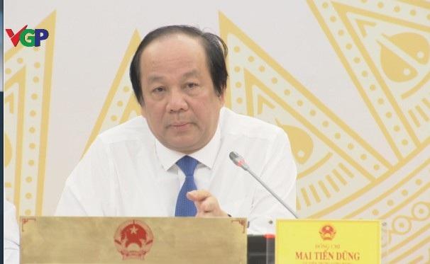 Bộ trưởng - Chủ nhiệm Văn phòng Chính phủ Mai Tiến Dũng cho biết, Thủ tướng, Chính phủ đồng ý về chủ trương cho Hà Nội tổ chức giải đua xe công thức 1.