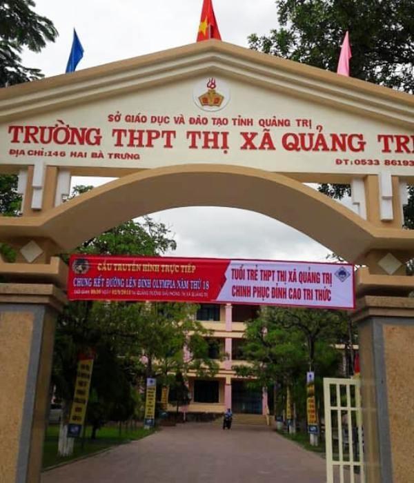 Trường THPT thị xã Quảng Trị 2 lần có học sinh lọt vào chung kết và có 1 quán quân