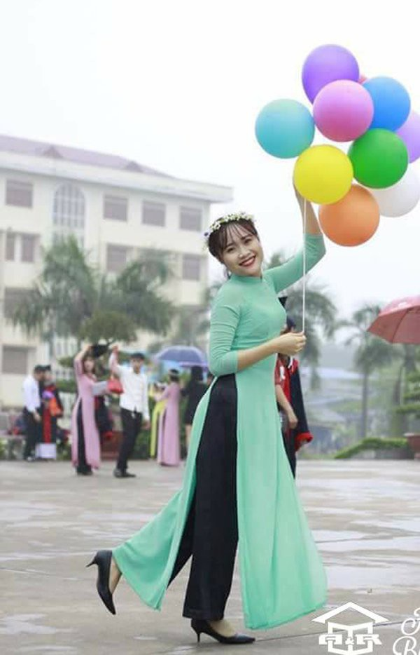 Hình ảnh xinh tươi của Vân Anh trước khi mắc bệnh