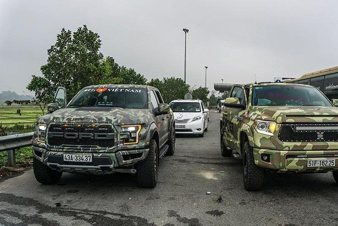 Đã có những chiếc bán tải cỡ lớn của Ford F-150 tại Việt Nam đeo biến số của dòng xe chở người (Passenger Car).