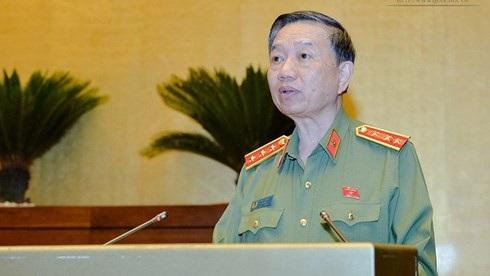 Thượng tướng Tô Lâm - Bộ trưởng Bộ Công an sẽ đăng đàn trả lời chất vấn tại phiên họp 26 của UB Thường vụ Quốc hội