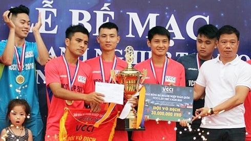 Đội bóng Tú Đạt vô địch cúp VCCI khu vực phía Bắc