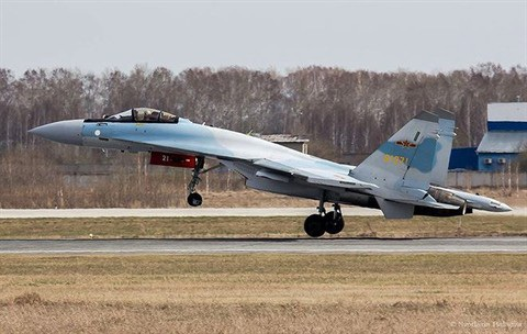 Tiêm kích đa năng thế hệ 4,5 Su-35SK Nga bán cho Trung Quốc