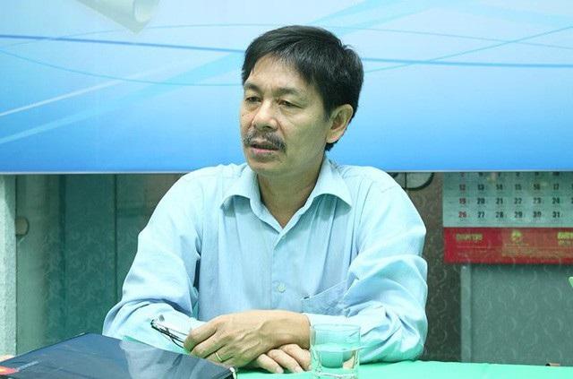 PGS.TS Trần Văn Tớp, Phó Hiệu trưởng Trường ĐH Bách khoa Hà Nội trong buổi giao lưu trực tuyến.Ảnh: Hồng Hạnh