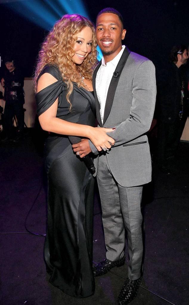 Nữ ca sĩ Mariah Carey và nam rapper Nick Cannon
