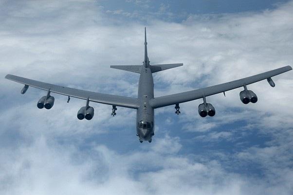 Một máy bay B-52 của Mỹ (Ảnh: Military)