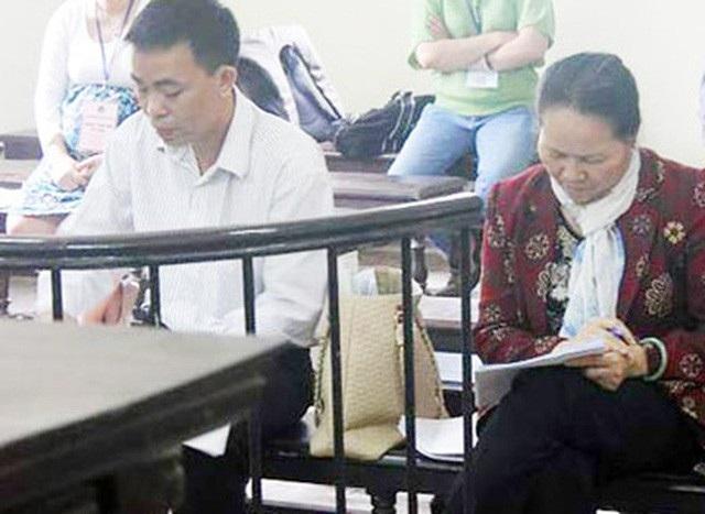 Bà Mai Thị Khánh trong một phiên toà năm 2011 (Ảnh: P.Thảo)