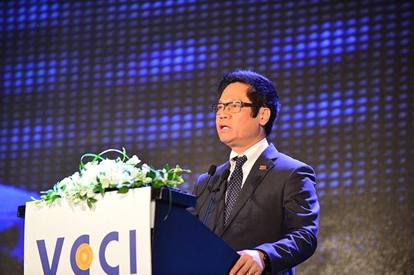 Chủ tịch VCCI Vũ Tiến Lộc.