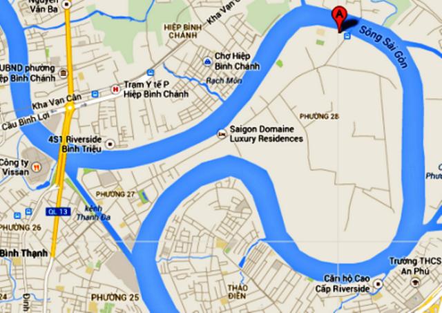 Bán đảo Thanh Đa nằm giữa bốn bề sông nước