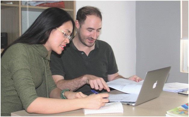 Các thầy cô thiết kế chương trình đều đang giảng dạy tại các trường quốc tế lớn.