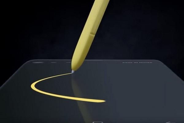 Sự nâng cấp trên cây viết S Pen là một trong những tính năng đáng trông đợi trên Galaxy Note 9
