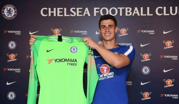 Thủ môn Kepa Arrizabalaga ra mắt Chelsea