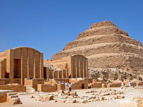Công trình cổ đại đang được phục hồi