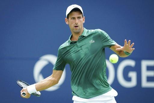 Djokovic chơi ổn định ngay từ vòng đầu tiên của Roger Cup