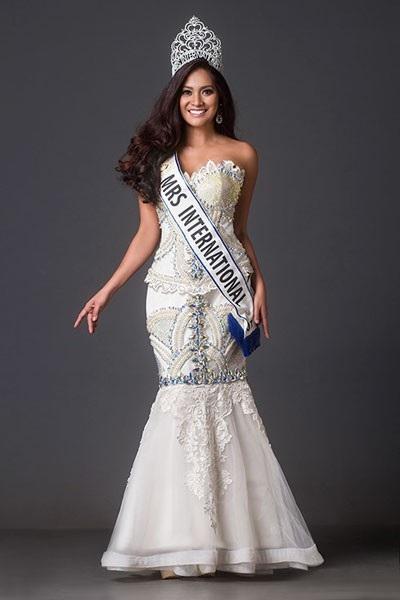 Hoa hậu Quý bà Quốc tế 2017, Jessica Eribal.