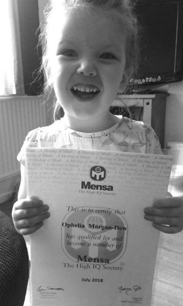 Cô bé 3 tuổi ở Anh có chỉ số IQ cao hơn Albert Einstein - 2