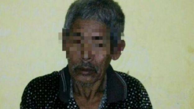 Nghi phạm Jago (Ảnh: Cảnh sát Indonesia)