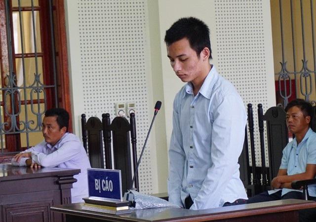 Bị cáo Phan Đình Quảng tại phiên tòa