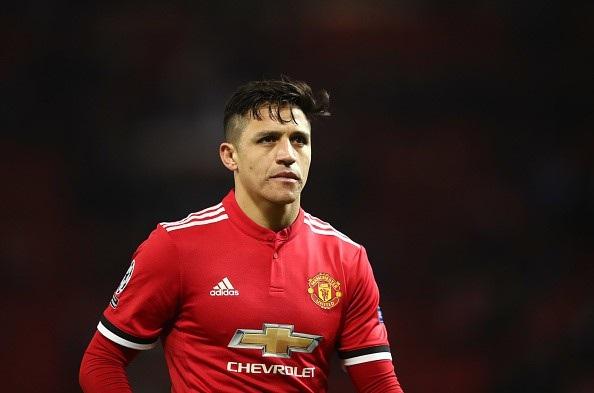 Alexis Sanchez soán mất vị trí ở đội hình chính của Anthony Martial