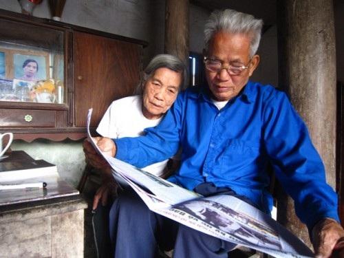Cụ Nguyễn Phương Ngân, người vinh dự được gặp Bác Hồ.
