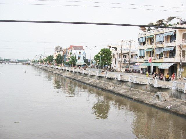 Sóc Trăng: Phát hiện sai phạm gần 700 triệu đồng trong dự án bờ kè sông Maspero - Ảnh 1.