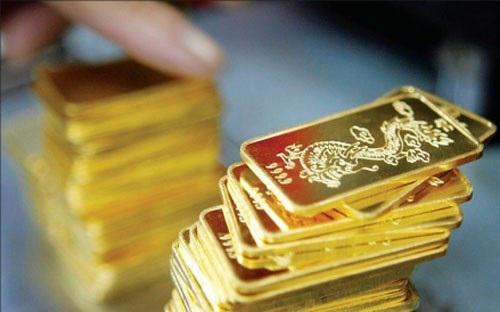 Phiên giao dịch sáng nay 1/9, giá vàng SJC được các doanh nghiệp niêm yết ở mức trên 36,7 triệu đồng/lượng dù giá vàng thế giới vừa có chuỗi ngày giảm sâu nhất 5 năm qua.