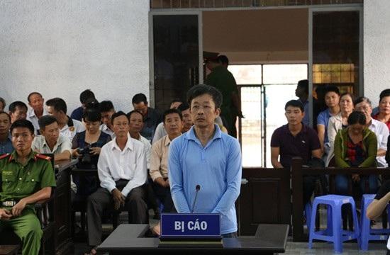 Bị cáo  Y Tuyến Ksơr tại phiên xét xử