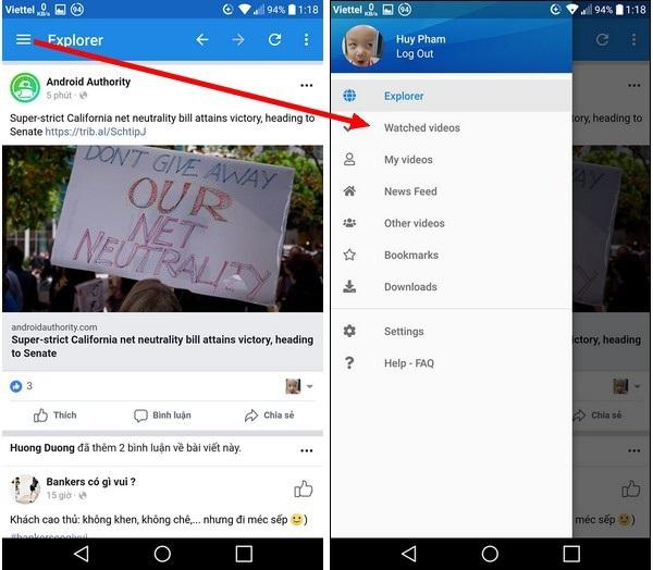 Thủ thuật giúp download video chất lượng cao từ Facebook về smartphone - 6
