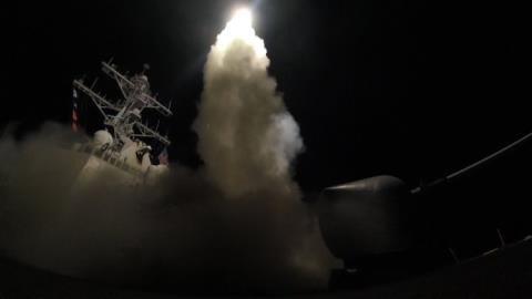 Nga sẽ can thiệp vào kế hoạch tấn công tên lửa vào Syria của Mỹ.