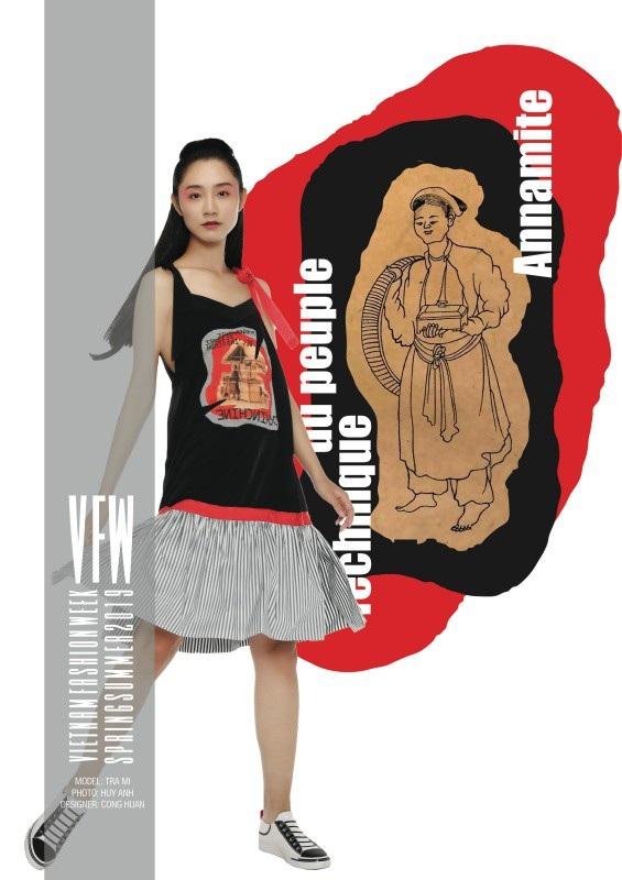 Những ký hoạ đắt giá về Việt Nam xưa được NTK Công Huân đưa vào thời trang - 4