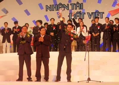 My Vietnam giành giải Nhì, là giải cao nhất trong năm đầu tiên tổ chức Nhân tài Đất Việt.