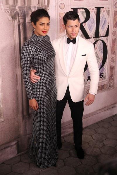 Priyanka Chopra và Nick Jonas là khách VIP trong show diễn của Ralph Lauren tại New York Fashion Week ngày 8/9 vừa qua