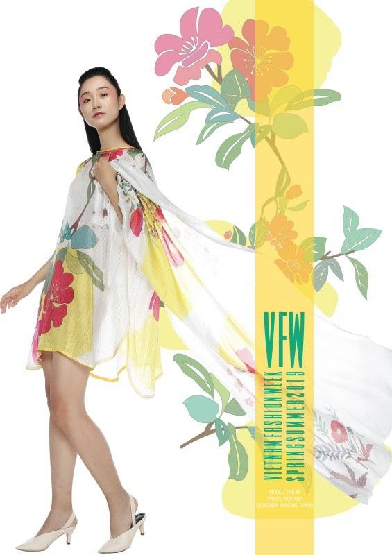 Những thiết kế của Phương Thanh trở về với thiên nhiên và gần gũi với thiên nhiên hơn.