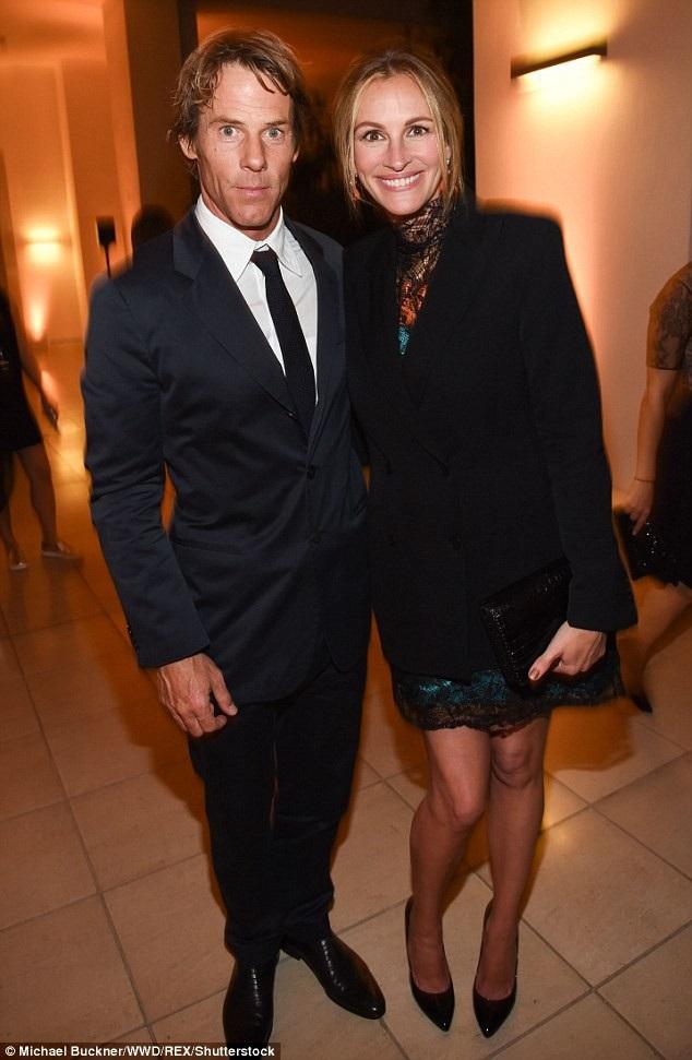 Julia Roberts và chồng