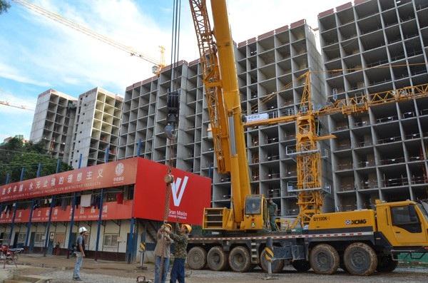 Công nhân Trung Quốc tại một công trình ở Venezuela (Ảnh minh họa: Xinhua)