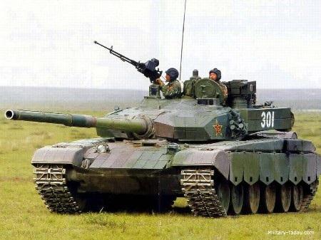Xe tăng Type-99 (Ảnh: Military Today)