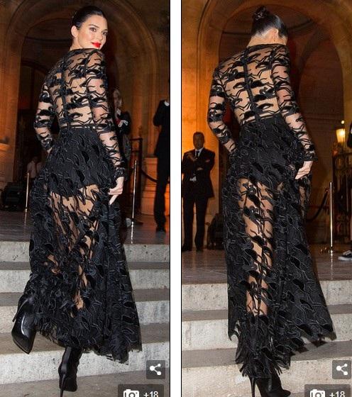 Kendall Jenner quyến rũ dự sự kiện thời trang tại Paris ngày 11/9