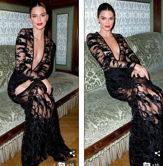 Kendall Jenner là tâm điểm thu hút sự chú ý trong sự kiện