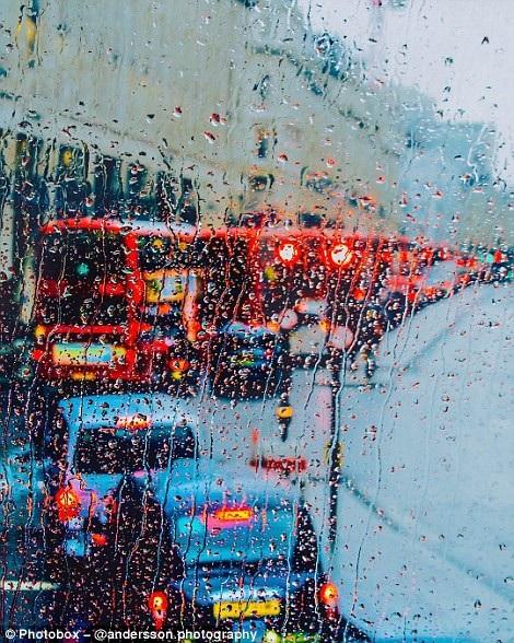 Cuộc thi thu hút hàng trăm nghìn người tham dự. Bức ảnh trên chụp một ngày mưa ở London.