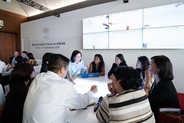 Diễn đàn Kinh tế Thế giới về Đông Nam Á (WEF ASEAN) 2018 diễn ra tại Hà Nội từ 11-13/9.