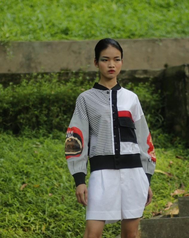 Những ký hoạ đắt giá về Việt Nam xưa được NTK Công Huân đưa vào thời trang - 11