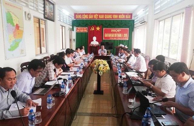Chiều ngày 13/9, tại buổi họp báo, Ban Tuyên giáo Tỉnh ủy Cà Mau có thông tin thêm về tình hình rà soát, sắp xếp lại cán bộ, giáo viên, nhân viên ngành giáo dục.