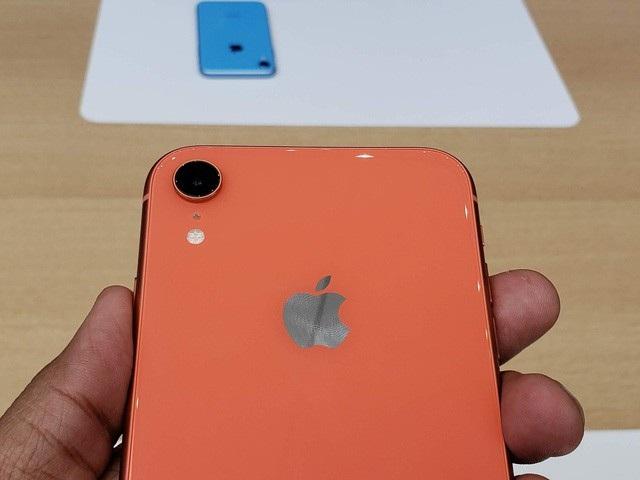 ... và mặt lưng của iPhone 8.