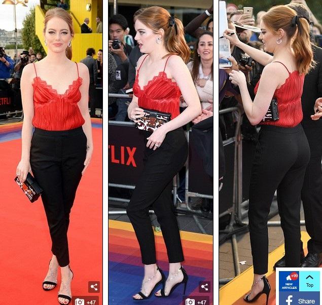 Emma Stone xinh đẹp tái xuất - 4