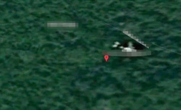 Chuyên gia Anh tin rằng đã định vị được chiếc máy bay MH370 mất tích trong rừng rậm Campuchia. (Ảnh: Google)
