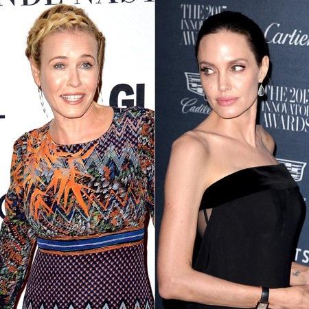 """Angelina Jolie đã bất ngờ gây thù chuốc oán với Chelsea Handler chỉ vì chia tay ông xã Brad Pitt vào năm 2016. Chelsea Handler vốn chơi thân với vợ trước của Pitt, Jennifer Aniston. Và có lẽ, vì vẫn để bụng chuyện Jolie từng làm người thứ ba nên nữ danh hài đã không ngần ngại nhận xét rằng nàng """"Lara Croft"""" có lẽ đã bị mất trí thì mới chấp nhận ly dị chồng."""
