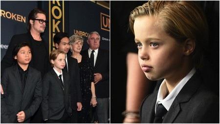 """""""Shiloh ấy mà, chúng tôi cảm thấy con bé mang phong cách Montenegro. Trong khi đây là cách mọi người mặc đồ thì con bé lại thích đồ thể thao, thích đồ com-lê. Nó thích mặc như một cậu con trai. Con bé cứ muốn là một cậu con trai thôi. Vì thế mà chúng tôi đã cắt tóc cho con bé"""", Angelina Jolie cũng cởi mở chia sẻ về phong cách đặc biệt của bé Shiloh."""